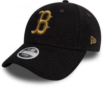 czapka z daszkiem NEW ERA - 940W Essntl Jrsy BOSRED (GRHGLD)