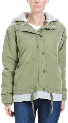 kurtka BENCH - Oversized 2 In 1 Jacket Oil Green  (GR064)