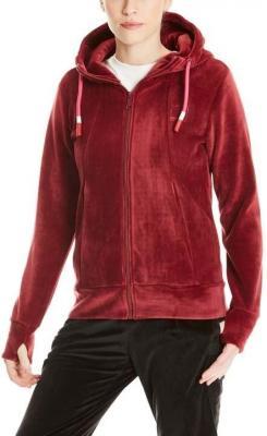 bluza BENCH - Fleece Zip Through Hoody Cabernet (RD11343)