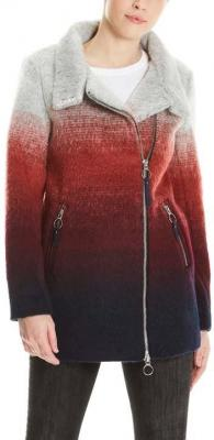kurtka BENCH - Bonded Biker Coat Multicolour Stripe (P1171)