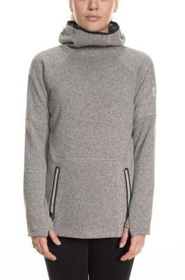bluza 686 - Knit Tech Fleece Hoody Lt Grey Mlng (LTG)