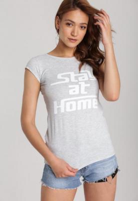 Szary T-shirt Loraisea