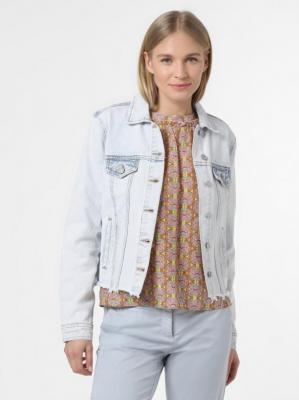 Vila - Damska kurtka jeansowa – VIAnnabel, niebieski