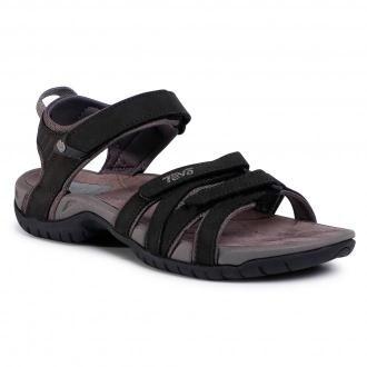 Sandały TEVA - Tirra Leather 4177 Blk