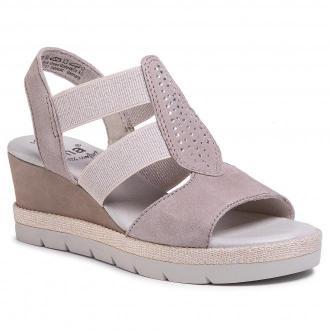 Sandały JANA - 8-28311-24 Grey 200