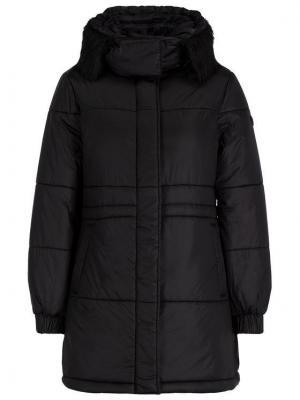 Emporio Armani Płaszcz zimowy 6G2L77 2NUNZ 0999 Czarny Regular Fit