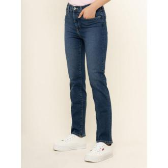 Levi's® Jeansy Straight Leg 724™ High-Waisted 18883-0046 Granatowy Straight Fit