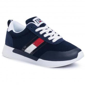 Sneakersy TOMMY JEANS - Technical Flexi Runner EN0EN00875 Twilight Navy C87