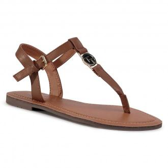 Sandały TOM TAILOR - 8090303  Cognac