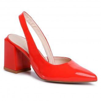 Sandały SAGAN - 4279 Orange Lakier