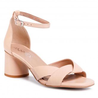 Sandały ANN MEX - 0320 03S Beż