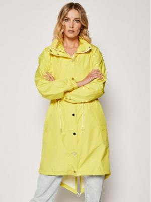 KARL LAGERFELD Parka Wterproof 201W1504 Żółty Slim Fit