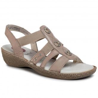 Sandały JANA - 8-28108-24 Taupe 341