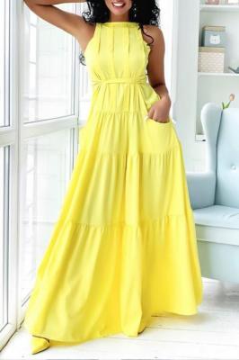Sukienka LORIBEL YELLOW