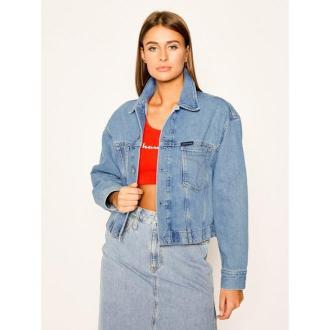 Calvin Klein Jeans Kurtka jeansowa J20J213357 Niebieski Regular Fit
