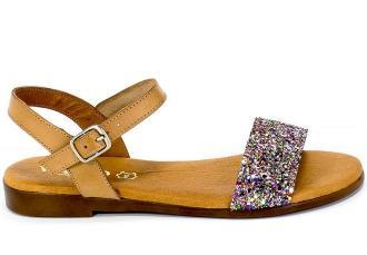 Sandały Verano 9190 Natural Multi