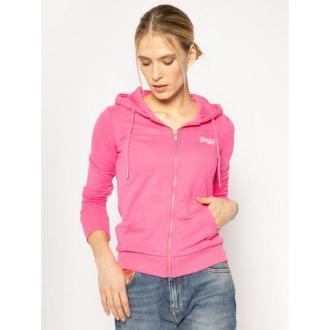 Superdry Bluza Ol Ziphood Ub Hoodie W2010130A Różowy Regular Fit