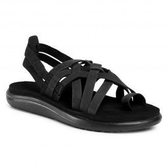 Sandały TEVA - Voya Strappy Leather 1106868 Blk