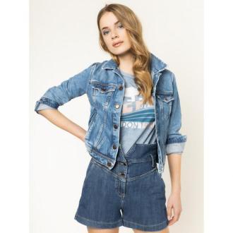Pepe Jeans Kurtka jeansowa PEPE ARCHIVE Core PL400654 Granatowy Regular Fit