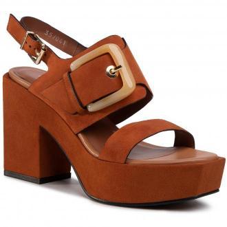 Sandały BRUNO PREMI - Sombrero Camoscio BZ5805X  Cuoio/Cuoio
