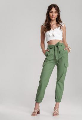 Zielone Spodnie Maipise