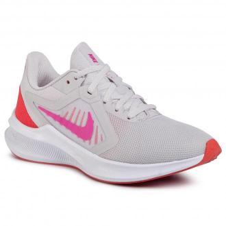 Buty NIKE - Downshifter 10 CI9984 002 Vast Grey/Fire Pink/Ember Glow