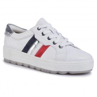 Sneakersy JANA - 8-23629-24 White/Silver 191