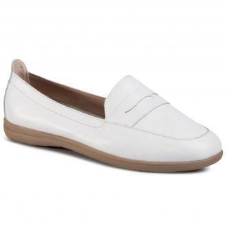 Półbuty JANA - 8-24600-24 White Nappa 108