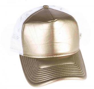 czapka z daszkiem NEW ERA - 940W Wmn Metallic Trucker Newera (GLD)