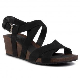 Sandały TEVA - Mahonia Wedge Cross Strap 1106860  Blk