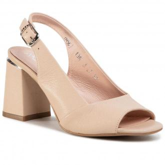 Sandały ANN MEX - 0956 03MS Beżowy