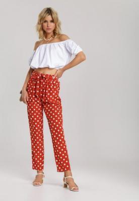 Czerwone Spodnie Mellorah
