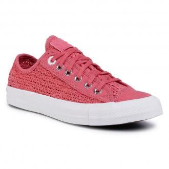 Tenisówki CONVERSE - Ctas Ox 567656C Madder Pink/White/Black