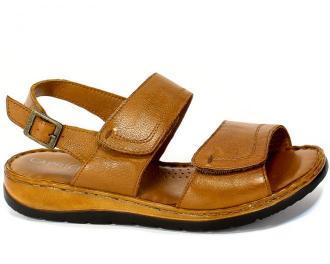 Sandały Caprice 9-28153-24 350 Cognac Nappa Brąz Skóra