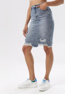 Niebieska Spódnica Kallisise