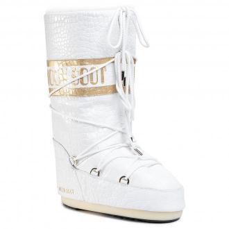 Śniegowce MOON BOOT - Mb Classic 50 Croccodile 14025600002  White