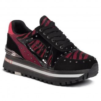 Sneakersy LIU JO - Wonder Maxi 13 BF0077 PX072 Burgundy Zebra S19E7