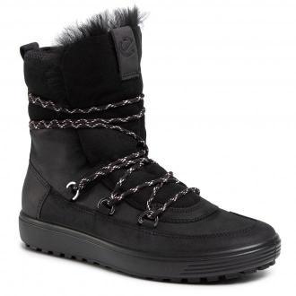 Botki ECCO - Soft 7 Tred W 45015351052 Black/Black