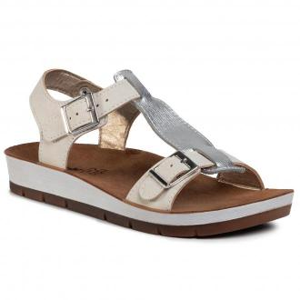 Sandały INBLU - CP183FO1  Silver
