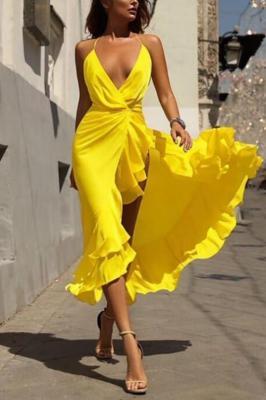 Sukienka TANIRA YELLOW