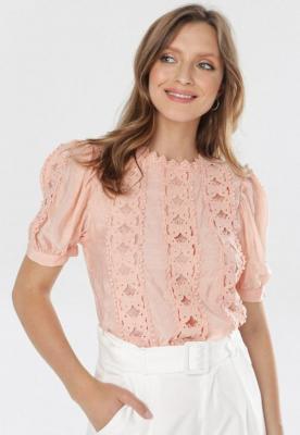 Różowa Bluzka Guinelee