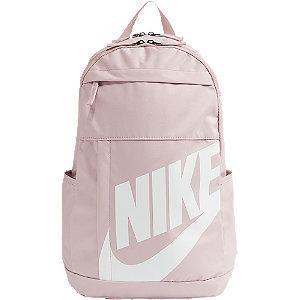 Jasnoróżowy plecak damski Nike z białym logo