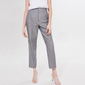 Mohito - Spodnie garniturowe z wiskozą -