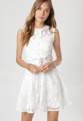 Biała Sukienka Laocea