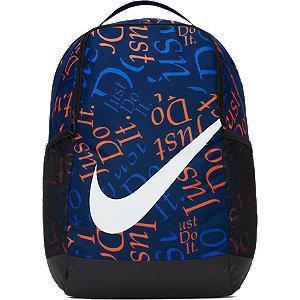 Granatowo-czarny plecak dziecięcy Nike Brasilia