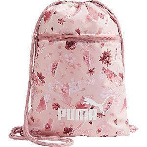 Różowy worek Puma w kwiatowy wzór