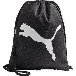 Czarny worek Puma Beta z białym logo