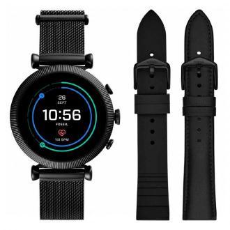 Smartwatch FOSSIL - Sloan Hr FTW6055SET Black/Black