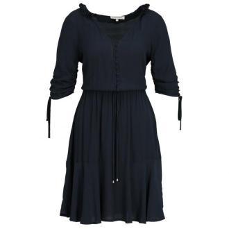 Silvian Heach Sukienka letnia CVP19241VE Granatowy Relaxed Fit