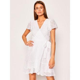 MICHAEL Michael Kors Sukienka letnia MS08ZL8DZE Biały Regular Fit